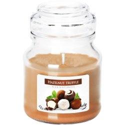 Bispol świeca zapachowa w szkle z wieczkiem słoik Trufla Orzechowa SND71-201