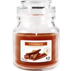 Bispol świeca zapachowa w szkle z wieczkiem słoik Cynamon SND71-65