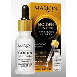 Marion Golden Skin Care Serum do twarzy Hialuronowe Nawilżanie 20ml