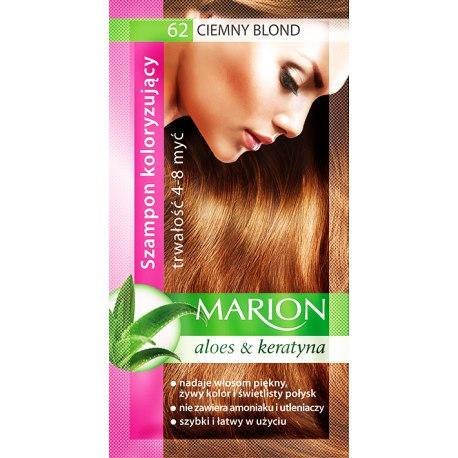 Marion szampon koloryzujący 62 Ciemny Blond saszetka 40ml