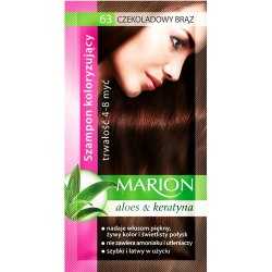 Marion szampon koloryzujący 63 Czekoladowy Brąz saszetka 40ml