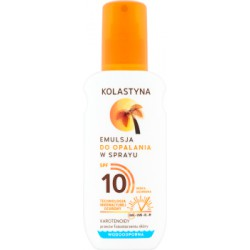 Kolastyna Emulsja do opalania w sprayu SPF 10 150 ml