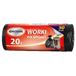 Grosik Worki HD 20l 50szt