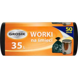 Grosik Worki HD 35l 50szt