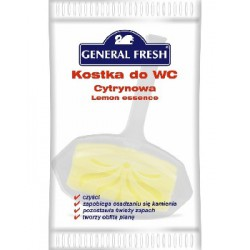 General Fresh Kostka WC folia Cytryna 30g