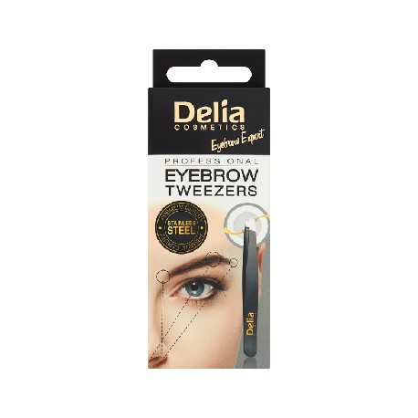 Delia Cosmetics Pęseta do brwi