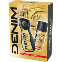 Denim Gold dezodorant 150ml + żel 250ml