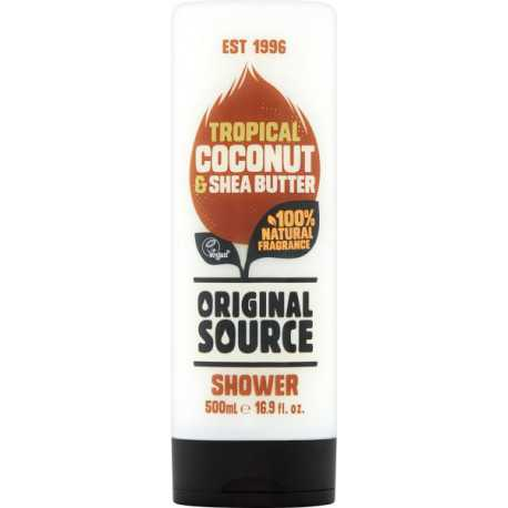 Original Source Żel pod prysznic 500 ml Tropical Coconut & Shea Butter