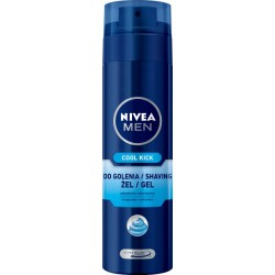 NIVEA MEN Żel do golenia Cool Kick 200 ml