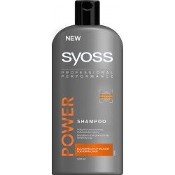 Syoss Men Power Szampon do włosów 500 ml