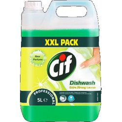 CIF Professional Dishwash Extra Strong Lemon płyn do naczyń 5 L width=