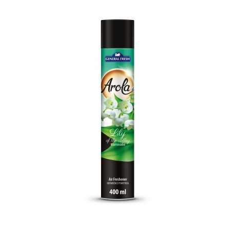 Arola odświeżacz Spray General Fresh konwalia 400 ml