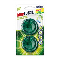 Blue Force kostka do spłuczki 2szt. General Fresh las