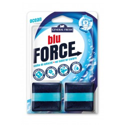 General Fresh Blue Force kostka do spłuczki kwadrat Morze 2 x 50g