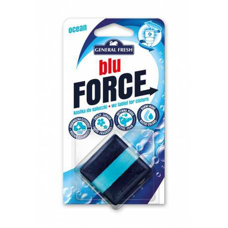 Blue Force kostka do spłuczki kwadrat 50g General Fresh morze