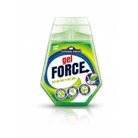 Gel Force żel do toalet z koszyczkiem 100ml General Fresh las