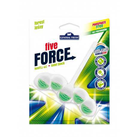 General Fresh Five Force kostka do WC 50g las