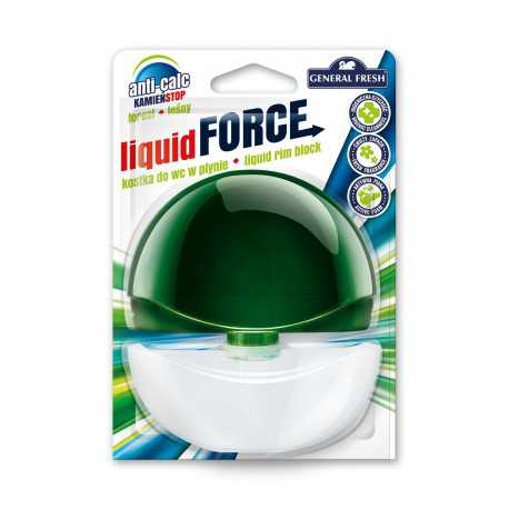 General Fresh Liquid Force kostka do WC w płynie 55ml las