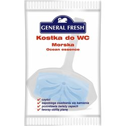 General Fresh One Force kostka do WC w folii morska 35g