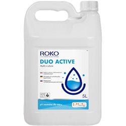 Roko Duo Active mydło o działaniu antybakteryjnym bezzapachowe 5l width=