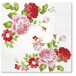 Serwetki Paw Roses Composition Pink TL694004