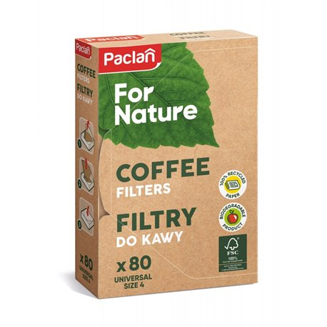 Paclan for Nature filtry do kawy 80szt