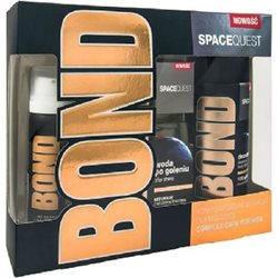 Bond Zestaw Spacequest Woda po goleniu 100ml + Pianka do golenia 50ml + Dezodorant 150ml width=