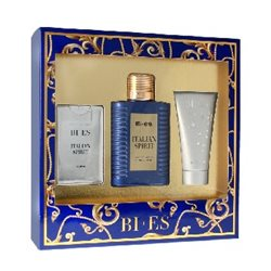 Bi-es Italian Spirit for Man Komplet (edt. 100ml + parfum 15ml + żel pod prysznic 50ml) width=