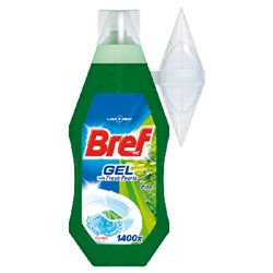 Bref WC with Fresh Pearls Pine Żel do toalet 360 ml width=