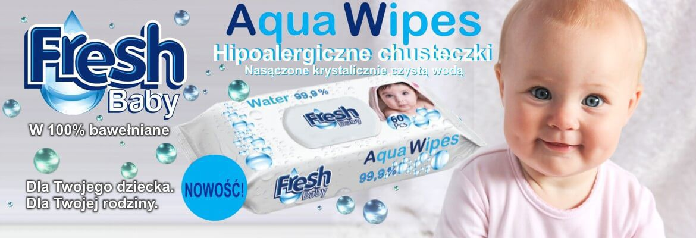 Chusteczki wodne Aqua Wipes