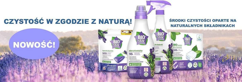 Biostar naturalne środki czystości