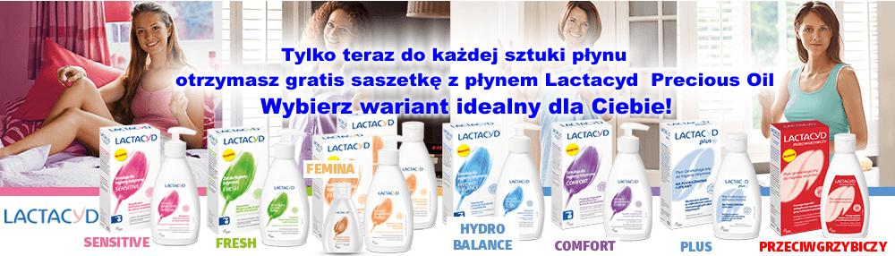 Promocja Lactacyd drogeria sklep internetowy Rajsklep