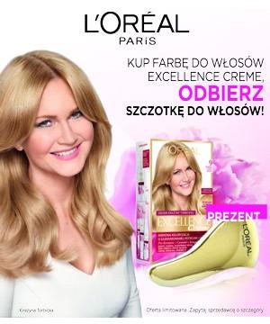 Promocja farb Loreal Excellence w drogerii internetowej Rajsklep