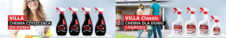 Villa - specjalistyczne płyny do czyszczenia
